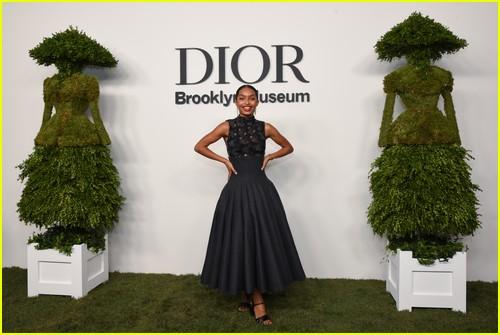 Yara Shahidi at the Christian Dior Designer of Dreams event