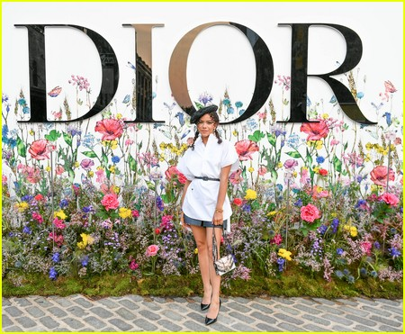 Antonia Gentry at the Miss Dior Millefiori Garden Pop-Up Preview and Dinner