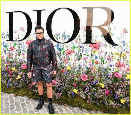 Dan Levy at the Miss Dior Millefiori Garden Pop-Up Preview and Dinner