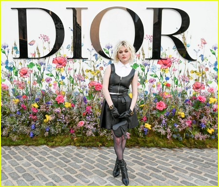 Emily Alyn Lind at the Miss Dior Millefiori Garden Pop-Up Preview and Dinner