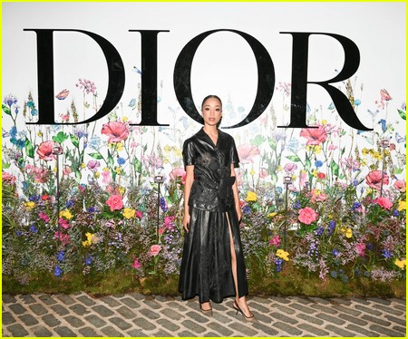 Erinn Westbrook at the Miss Dior Millefiori Garden Pop-Up Preview and Dinner