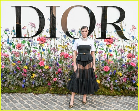 Hailee Steinfeld at the Miss Dior Millefiori Garden Pop-Up Preview and Dinner
