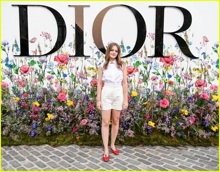 Jo Ellen Pellman at the Miss Dior Millefiori Garden Pop-Up Preview and Dinner
