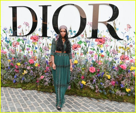 Savannah Lee Smith at the Miss Dior Millefiori Garden Pop-Up Preview and Dinner