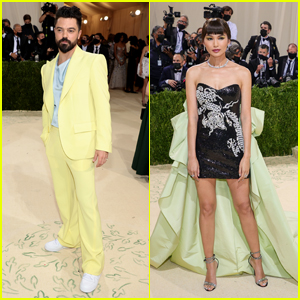 Gemma Chan & Dominic Cooper Get Glam at Met Gala 2021