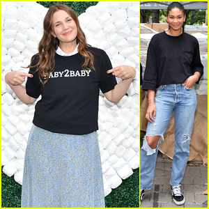 Drew Barrymore, Chanel Iman & More Hand Out Essential Items at Baby2Baby Event in NYC