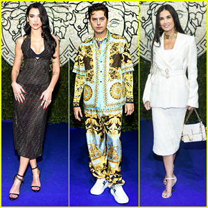 Dua Lipa, Cole Sprouse & Demi Moore Step Out For Fendi & Versace's Fashion Event in Milan