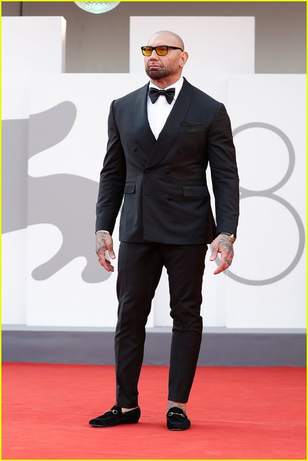 Dave Bautista at the Dune premiere in Venice