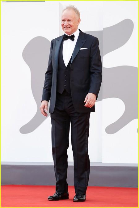 Stellan Skarsgard at the Dune premiere in Venice