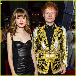 Ed Sheeran Wears Bold Gold Blazer For MTV VMAs 2021