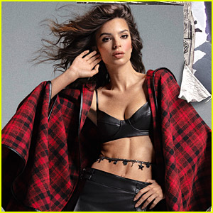Emily Ratajkowski Shows Off The Upcoming Dundas x Revolve Collection in New Ad Campaign