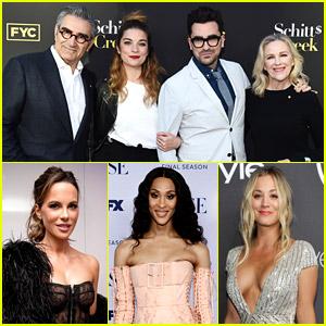 'Schitt's Creek' Cast, Kate Beckinsale, MJ Rodriguez & More Set To Present at Emmy Awards 2021