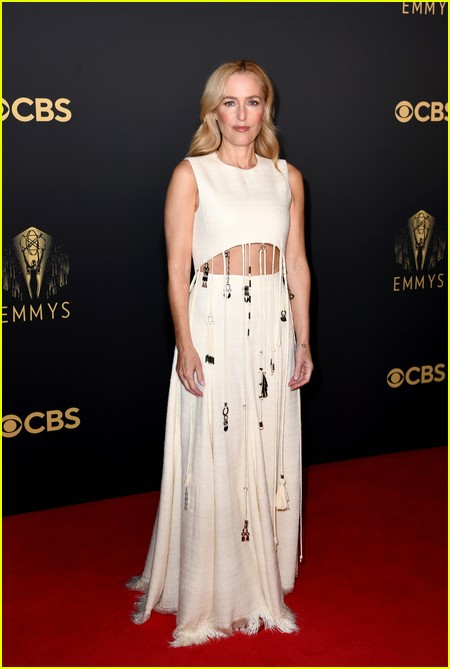 Gillian Anderson at the Emmy Awards 2021