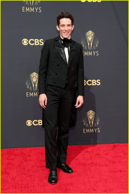 Josh O'Connor at the Emmy Awards 2021