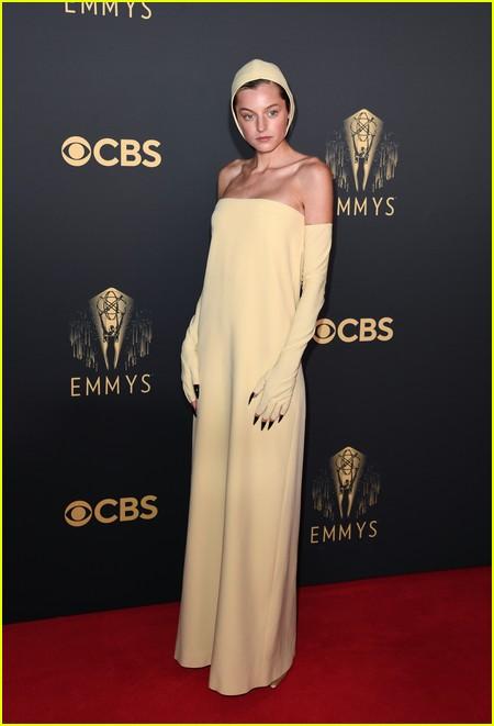 Emma Corrin at the Emmy Awards 2021
