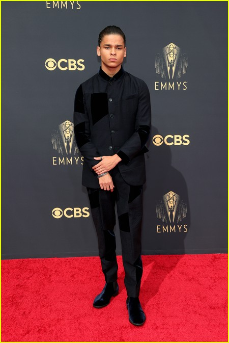 D'Pharaoh Woon-A-Tai at the Emmy Awards 2021