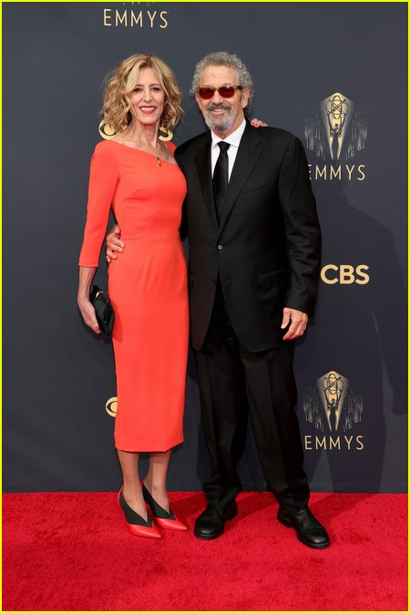 Christine Lahti and Thomas Schlamme at the Emmy Awards 2021