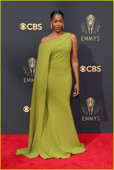 Moses Ingram at the Emmy Awards 2021