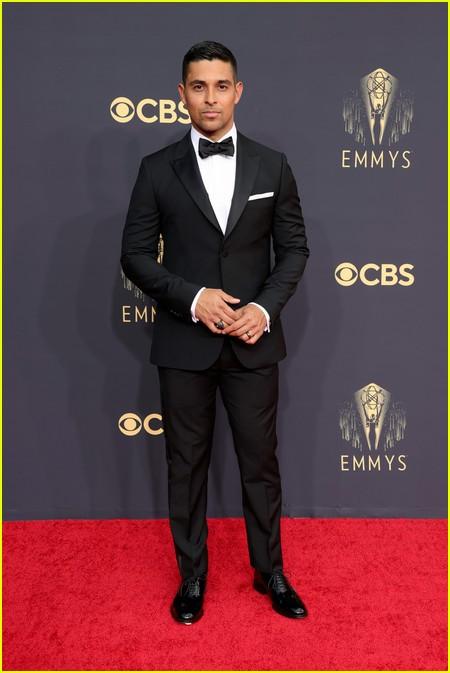 Wilmer Valderrama at the Emmy Awards 2021