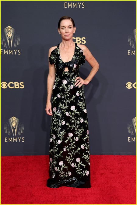 Julianne Nicholson at the Emmy Awards 2021