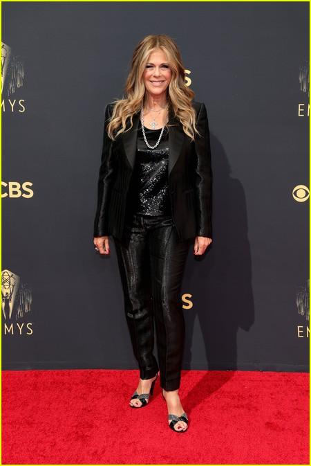 Rita Wilson at the Emmy Awards 2021
