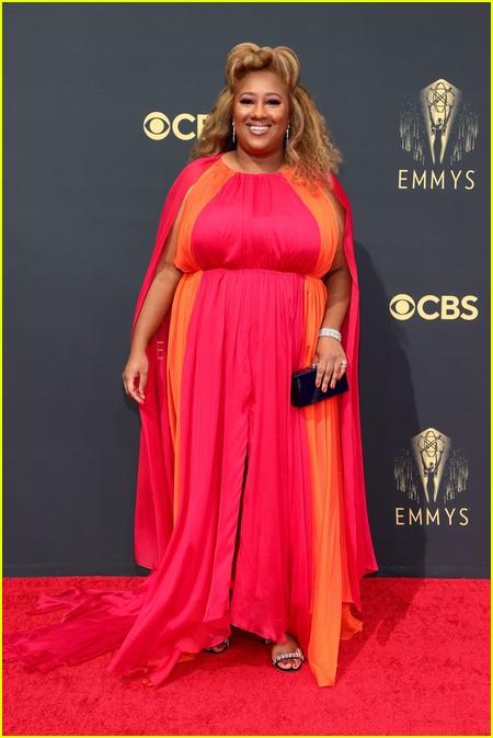 Ashley Nicole Black at the Emmy Awards 2021