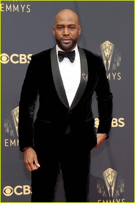 Karamo Brown at the Emmy Awards 2021