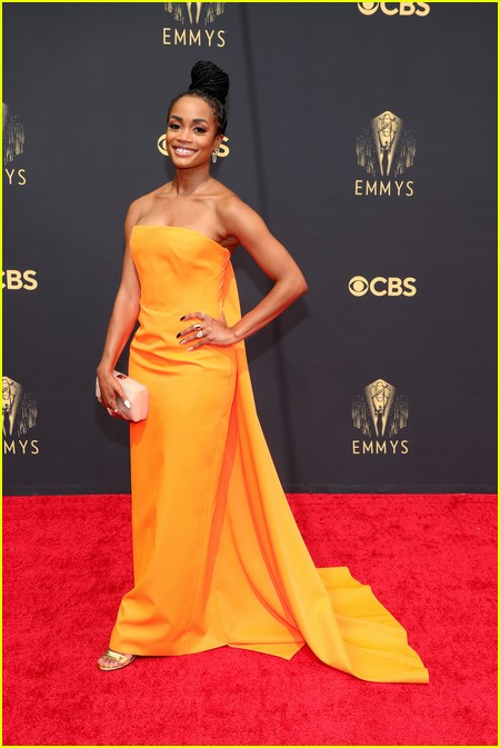 Rachel Lindsay at the Emmy Awards 2021