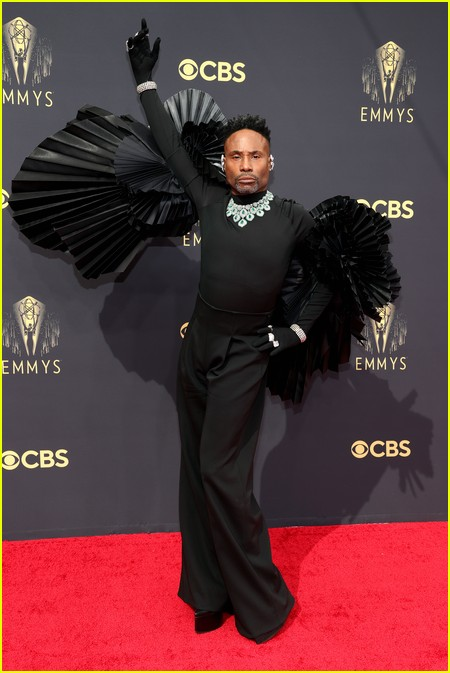 Billy Porter at the Emmy Awards 2021
