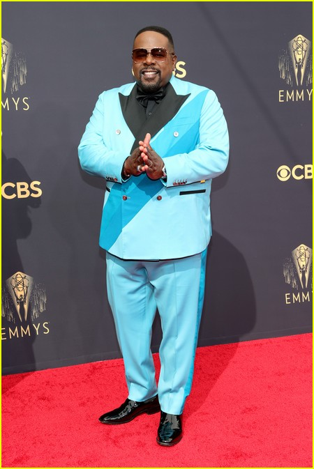 Cedric the Entertainer at the Emmy Awards 2021