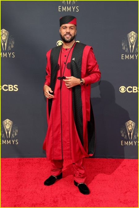 O-T Fagbenle at the Emmy Awards 2021