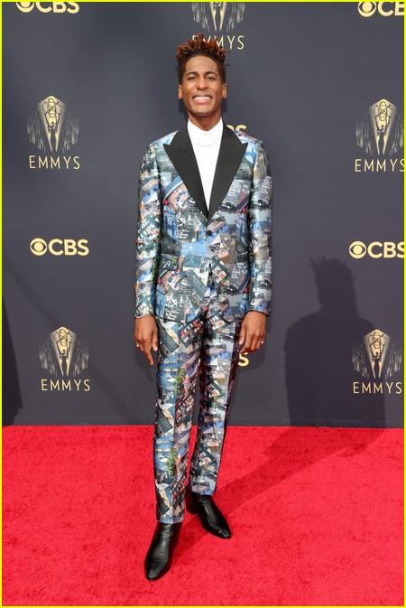 Jon Batiste at the Emmy Awards 2021