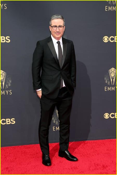 John Oliver at the Emmy Awards 2021