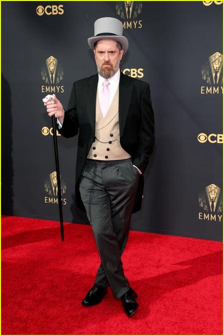 Brendan Hunt at the Emmy Awards 2021