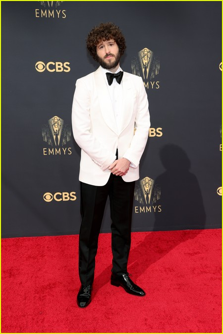 Lil Dicky at the Emmy Awards 2021