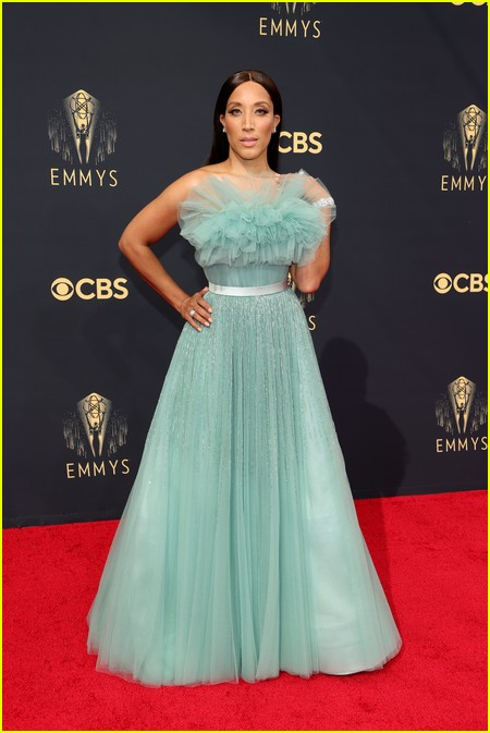 Robin Thede at the Emmy Awards 2021
