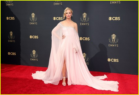 Beth Behrs at the Emmy Awards 2021