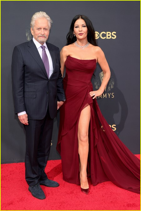 Michael Douglas at the Emmy Awards 2021