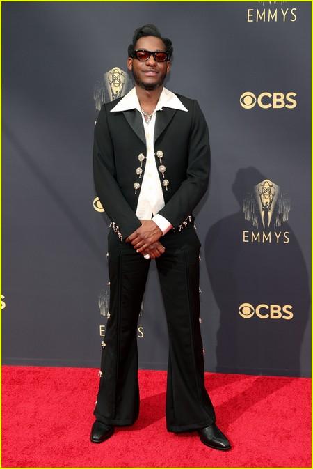 Leon Bridges at the Emmy Awards 2021