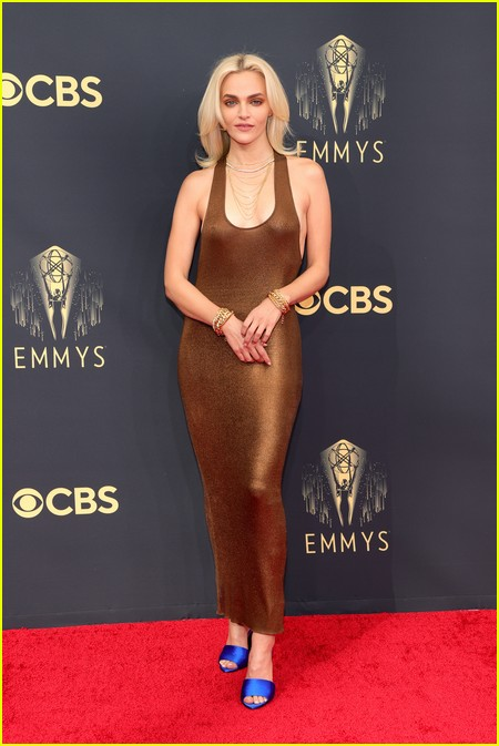 Madeline Brewer at the Emmy Awards 2021