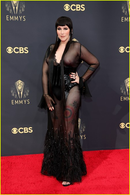 Our Lady J at the Emmy Awards 2021