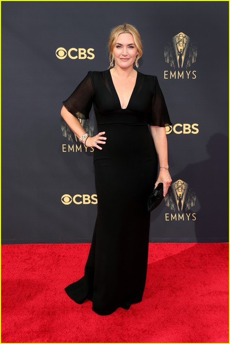 Kate Winslet at the Emmy Awards 2021