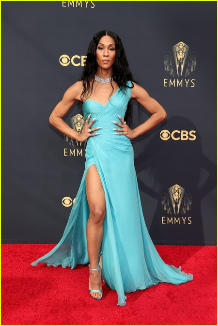 MJ Rodriguez at the Emmy Awards 2021