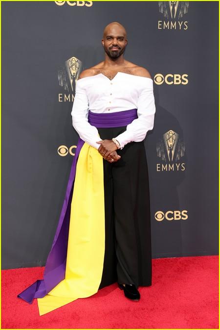 Carl Clemons-Hopkins at the Emmy Awards 2021