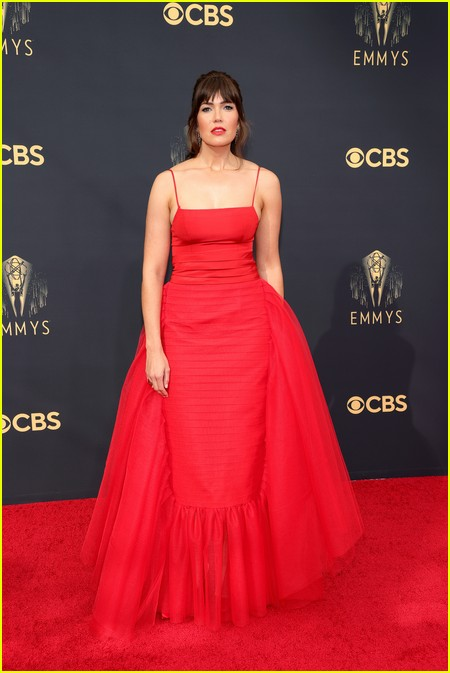 Mandy Moore at the Emmy Awards 2021