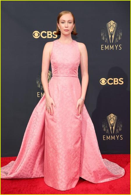 Hannah Einbinder at the Emmy Awards 2021