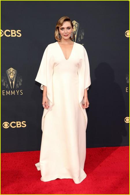 Elizabeth Olsen at the Emmy Awards 2021