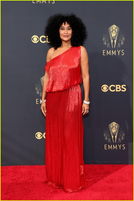 Tracee Ellis Ross at the Emmy Awards 2021