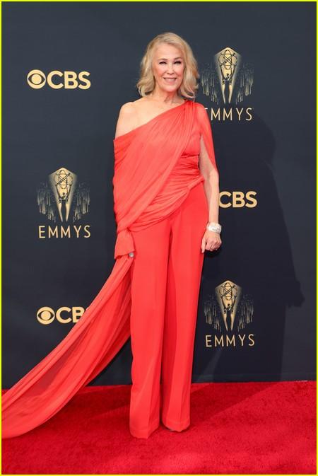 Catherine O'Hara at the Emmy Awards 2021