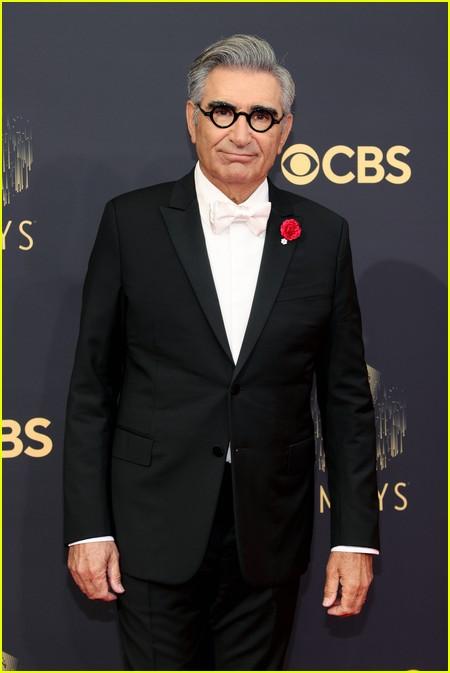 Eugene Levy at the Emmy Awards 2021